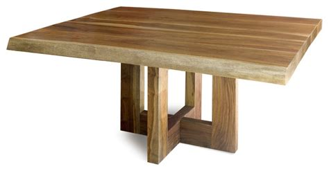 contemporary wood kitchen tables jacaranda dining table solid edge wood