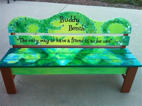 the buddy bench ocean view elementary school christian s buddy