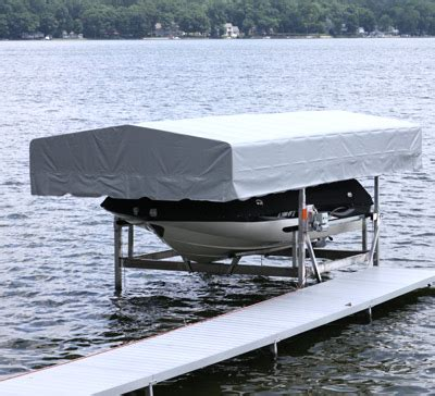 craftlander high top boat lift canopy midwest marine - Craftlander Boat Lift Canopy