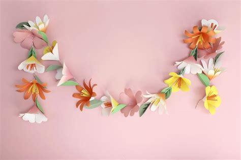 How To Make Paper Flower Garlands - best 20 paper flower garlands ideas on