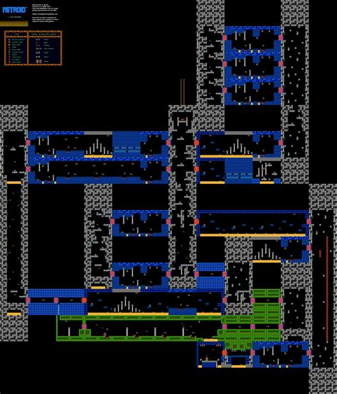 metroid map metroid nes map www pixshark images galleries with a bite