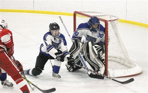 Mba Hockey by Mba Eliminated By Redwood In Section Opener