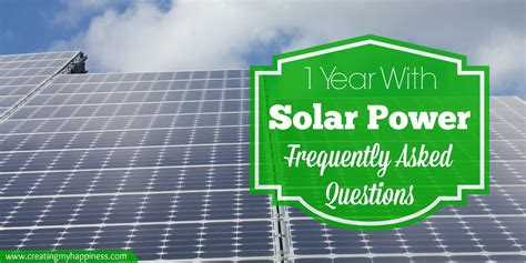 living on one solar panel frequently asked questions about living with solar electricity