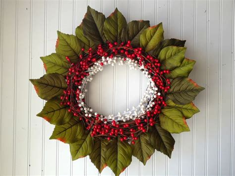 Berry Wreaths Front Door And Pearl White Berry Wreath Wreath For Decor Winter Wreath Winter