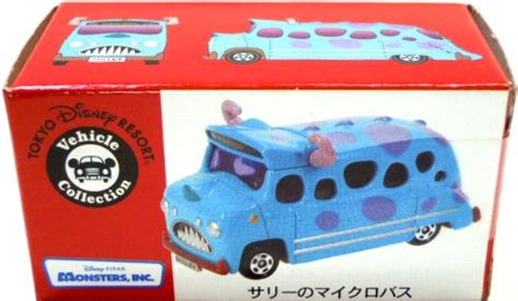 Tomica Disney Resort Mikes Trailer Microphone Vehicle Collection ディズニー トミカ にっき