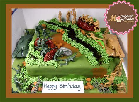 army combat happy birthday decorated cake margaretcookies