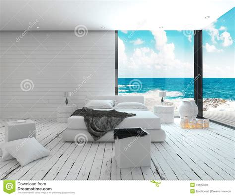 Dark Red Bedroom Ideas white bedroom interior in a maritime style and sea view
