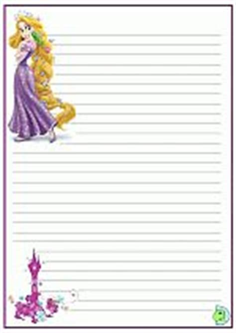 princess writing paper rapunzel tangled writing paper craft ideas