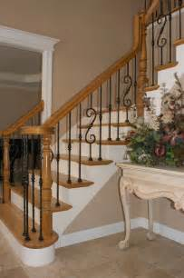 Tuscan Bathroom Design wrought iron baluster upgrade