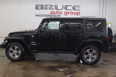 wrangler jeep 4 door 2016 used 2016 jeep wrangler unlimited 3 6l 6 cyl