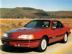 1987 ford thunderbird turbo related infomation