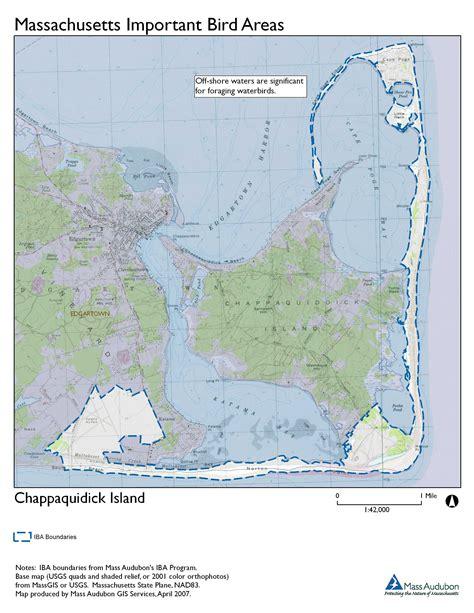 Chappaquiddick Map Site Summary Chappaquidick Island