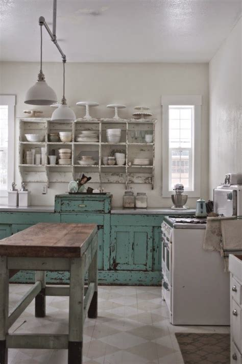 looking for kitchen cabinets weathered kitchen cabinets get the look with chalk paint