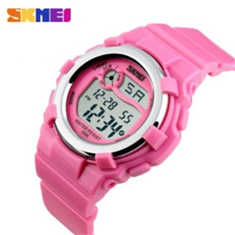 Skmei Children Sport Silicone Led Water Resistant 50m Dg1161 2 skmei s shock sport water resistant 50m dg1134