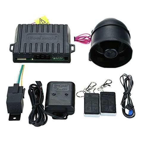 Central Locking Steelmate steelmate 838n 1 way car alarm system work with central locking system window closer anti