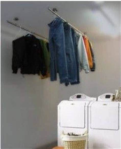 drying clothes in bedroom home d 233 cor storage stylish ideas for small laundry room