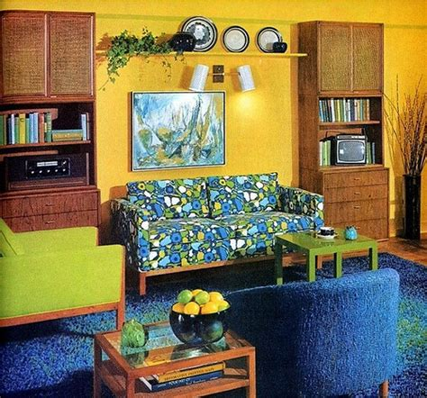 60s decor living room inspiration 60s 70s tickle me vintage