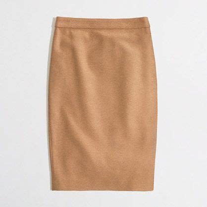 camel pencil skirt classic chic