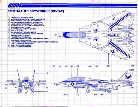 best blueprints yojoe combat jet skystriker xp 14f