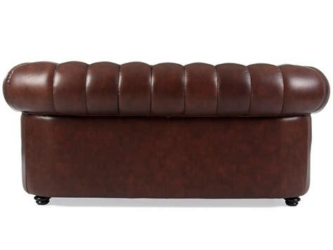 chesterfield sofa 2 sitzer braun