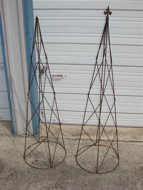 Shaped Garden Trellis 2 Cone Shaped Garden Trellis