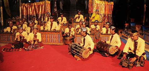 Indonesian gamelan ensemble showcases dazzling musical