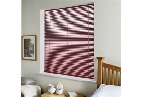 Made To Measure Venetian Blinds Made To Measure Venetian Blind Burgundy Absolute Home