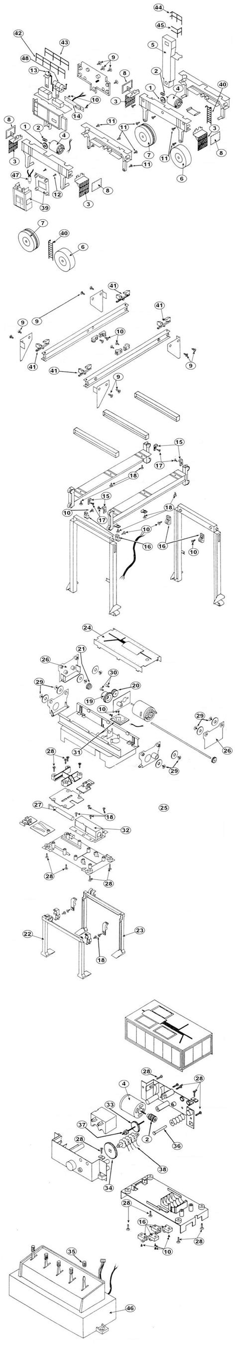lionel parts list and exploded diagrams lionel replacement parts o model trains from
