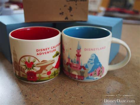 starbucks disney complete set mugs you are here starbucks disneyland a magical you are here collection disneydaze