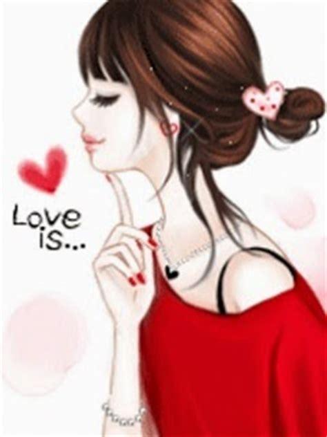 gambar foto kartun romantis korea imut apps directories