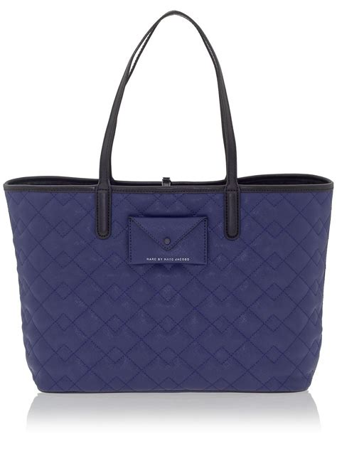 Marc Large Quilted Tote by Marc By Marc Metropolitote Quilted Tote 48 In Blue