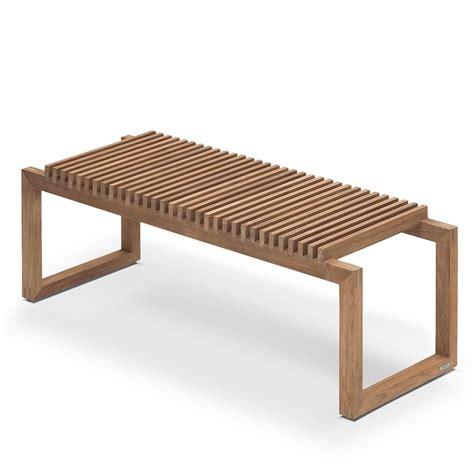 bench cutter skagerak cutter bench teak 120 hus hem