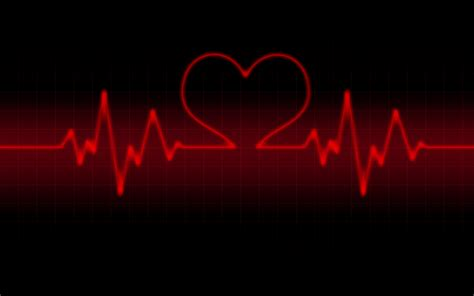 hd wallpaper black day life line heart rate wallpaper valentine day red and black
