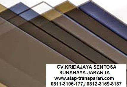 Multiroof Di Jambi supplier distributor atap transparan supplier