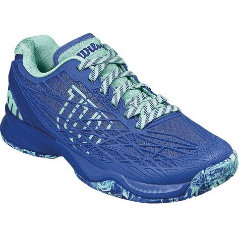 kaos nb tennis t734 wilson kaos s tennis shoe blue aqua