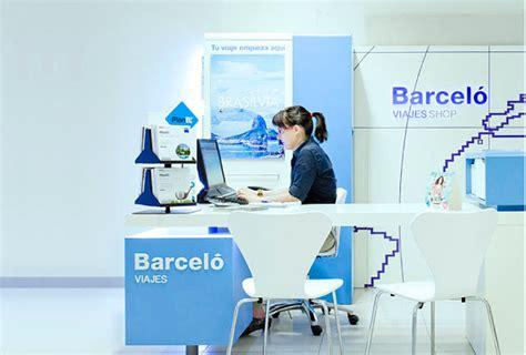 oficina barcelo viajes erretres integra la identidad gr 225 fica de barcel 243 viajes