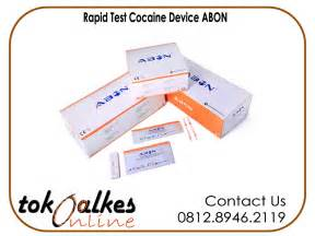 Alat Rapid Tes jual rapid test cocaine merk abon harga murah toko alat