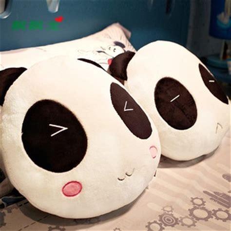 Boneka Pillow panda cushions boneka doll softies plushies