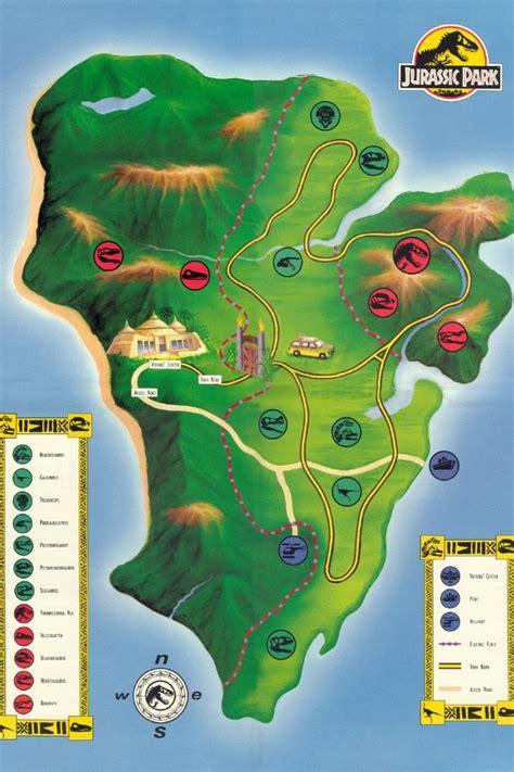 jurassic park map jurassic park map jurassic park