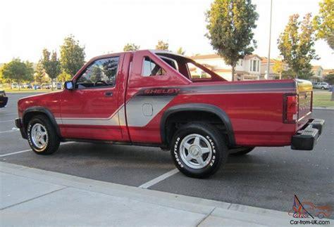 Dodge Shelby Dakota by 1989 Shelby Dakota V8 Dodge Truck Low