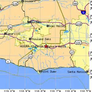agoura california map agoura california ca population data races