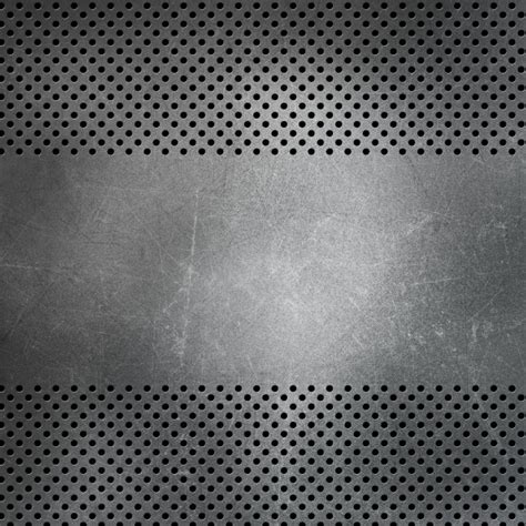 Metal texture with holes Photo   Free Download