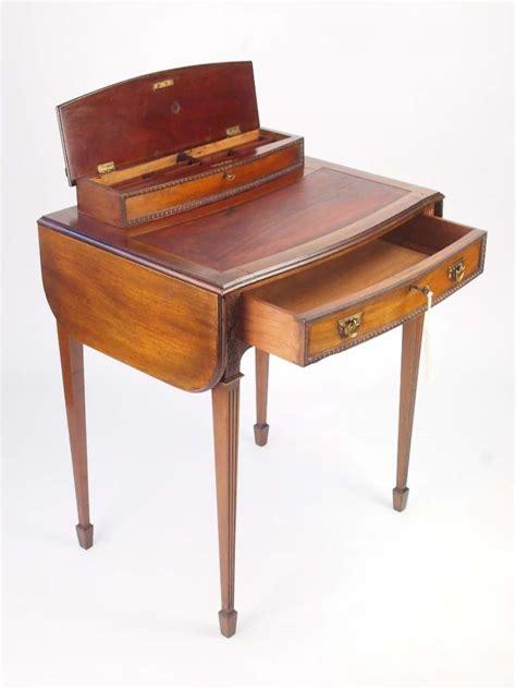 small antique writing desk small antique mahogany ladys writing desk