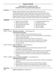 Resume Measurable Accomplishments Marketing Resume Exles Marketing Sle Resumes Livecareer