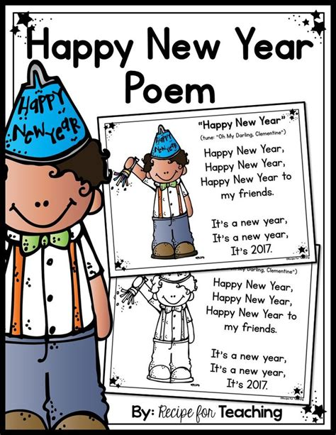 teaching new year to kindergarten 25 best ideas about new year poem on