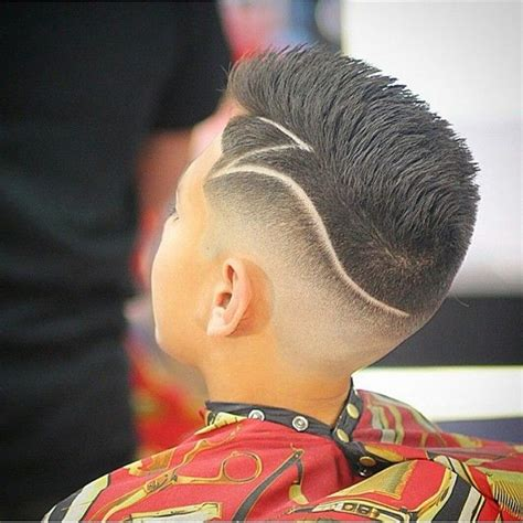 boys cool faded fohawk haircut faux hawk hairstyle newhairstylesformen2014 com