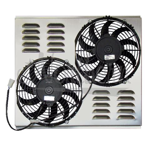electric radiator fans and shrouds northern factory dual 10 quot electric fan shroud 17 3 8
