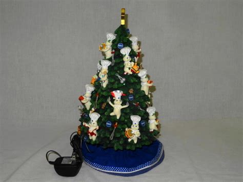 danbury mint pillsbury doughboy christmas tree