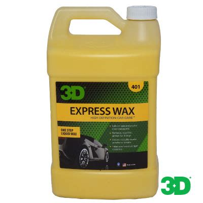 Express Wax express wax gal 243 n 3d products