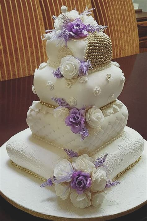 Wedding Cake Pillow by Purple And White Pillow Wedding Cake Pillow Cakes